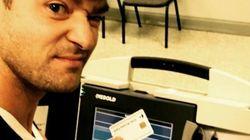 À cause de ce selfie, Justin Timberlake s'est attiré des ennuis avec la
