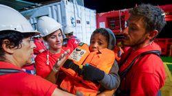 «Dieu merci, je suis en vie»: des milliers de migrants débarquent en