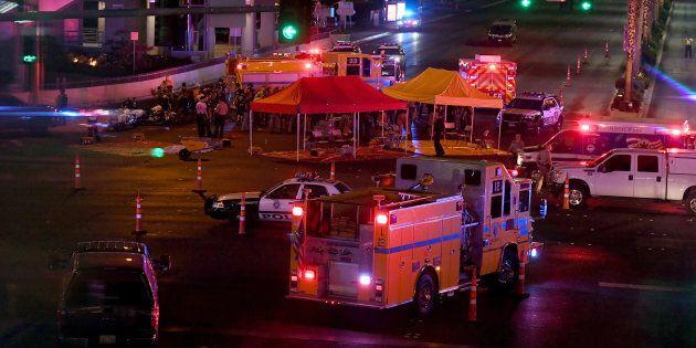 Le tireur de Las Vegas s'est tué avant l'arrivée de la
