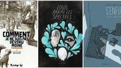 Les finalistes pour le Prix de la critique ACBD de la bande dessinée québécoise 2017 sont