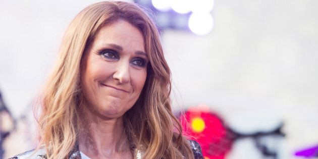 Celine Dion performs on NBC's