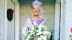 Cette mariée de 86 ans nous donne une leçon de