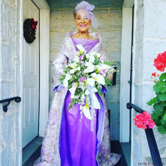 Cette grand-mère stylée de 86 ans vient de se marier et nous fait tous