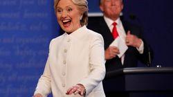 Le non verbal de Trump et Clinton