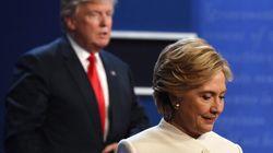 Voici les meilleures photos du troisième débat entre Donald Trump et Hillary