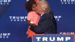 Donald Trump aurait-il tenté d'embrasser cette fillette sur la