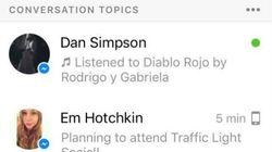 Facebook veut vous suggérer des sujets de conversation sur