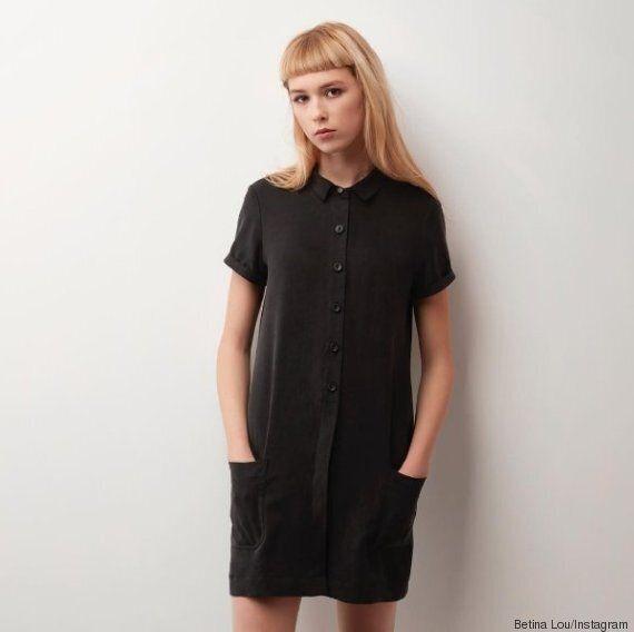 Betina Lou met en vente une nouvelle robe