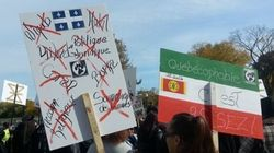 Des groupes anti-immigration se font entendre à