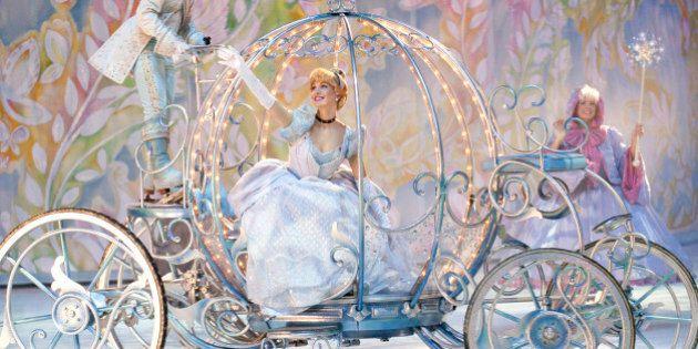 «Osez rêver» de Disney On Ice: trois petites filles et une princesse
