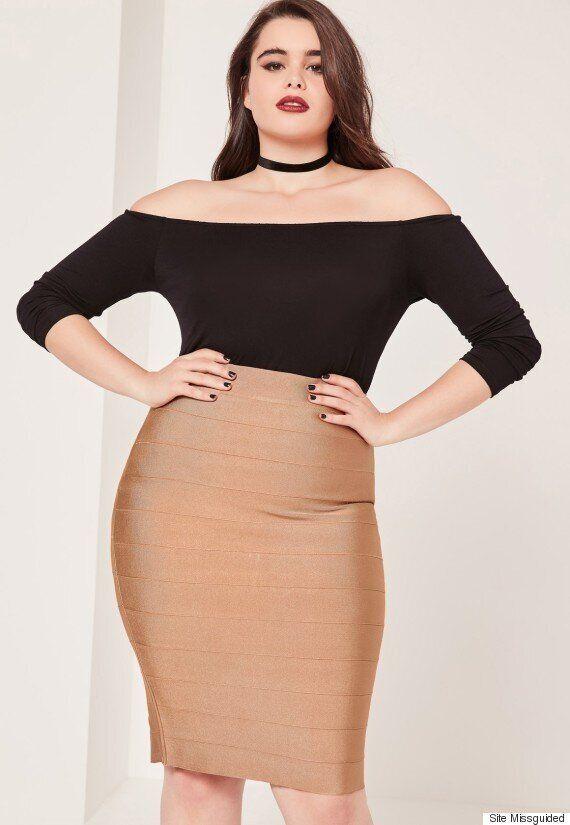 Le mannequin taille plus Barbie Ferreira magnifique pour la dernière campagne de Missguided