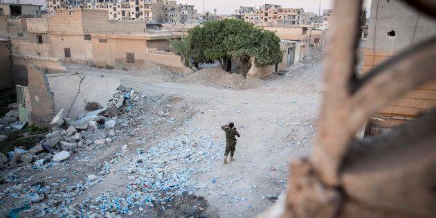 Syrie: plus aucun civil à Raqa hormis les proches de