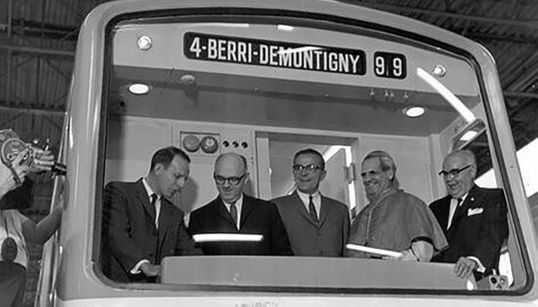 50 ans du métro de Montréal: du chantier à la