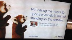 Telus s'excuse concernant une publicité controversée vieille de cinq