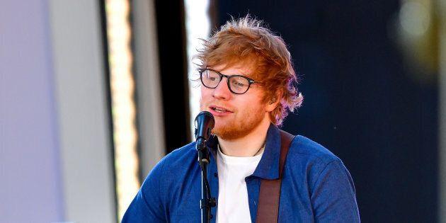 Ed Sheeran victime d'un accident de la
