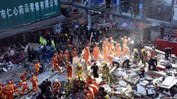 Chine: 22 morts dans l'effondrement de maisons