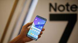 Débâcle du Galaxy Note 7: Samsung interrompt la