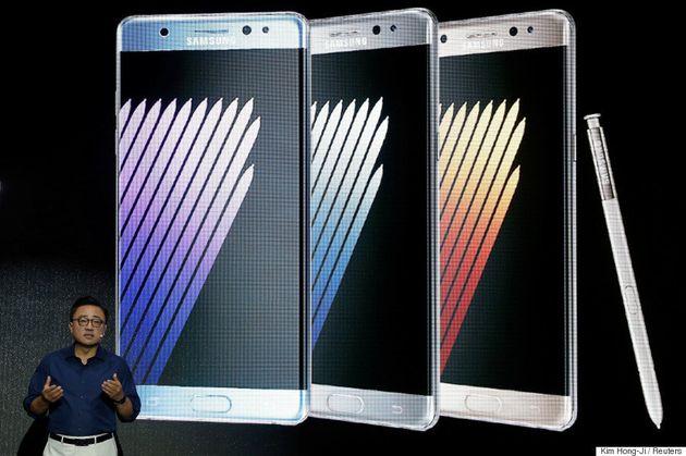 Le Galaxy Note 7 prend feu et Samsung ajuste sa
