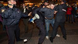 Russie: au moins 270 arrestations lors de manifestations contre