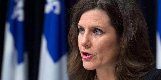 La ministre Stéphanie Vallée a donné plus de détails sur l'application de la loi