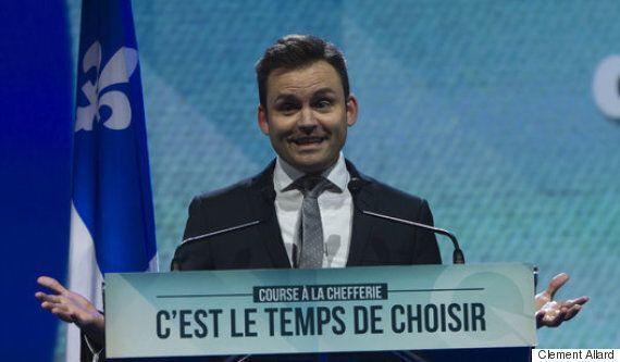 Parti québécois : Alexandre Cloutier fier de sa course malgré une deuxième