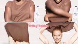 Dove s'excuse pour une publicité jugée
