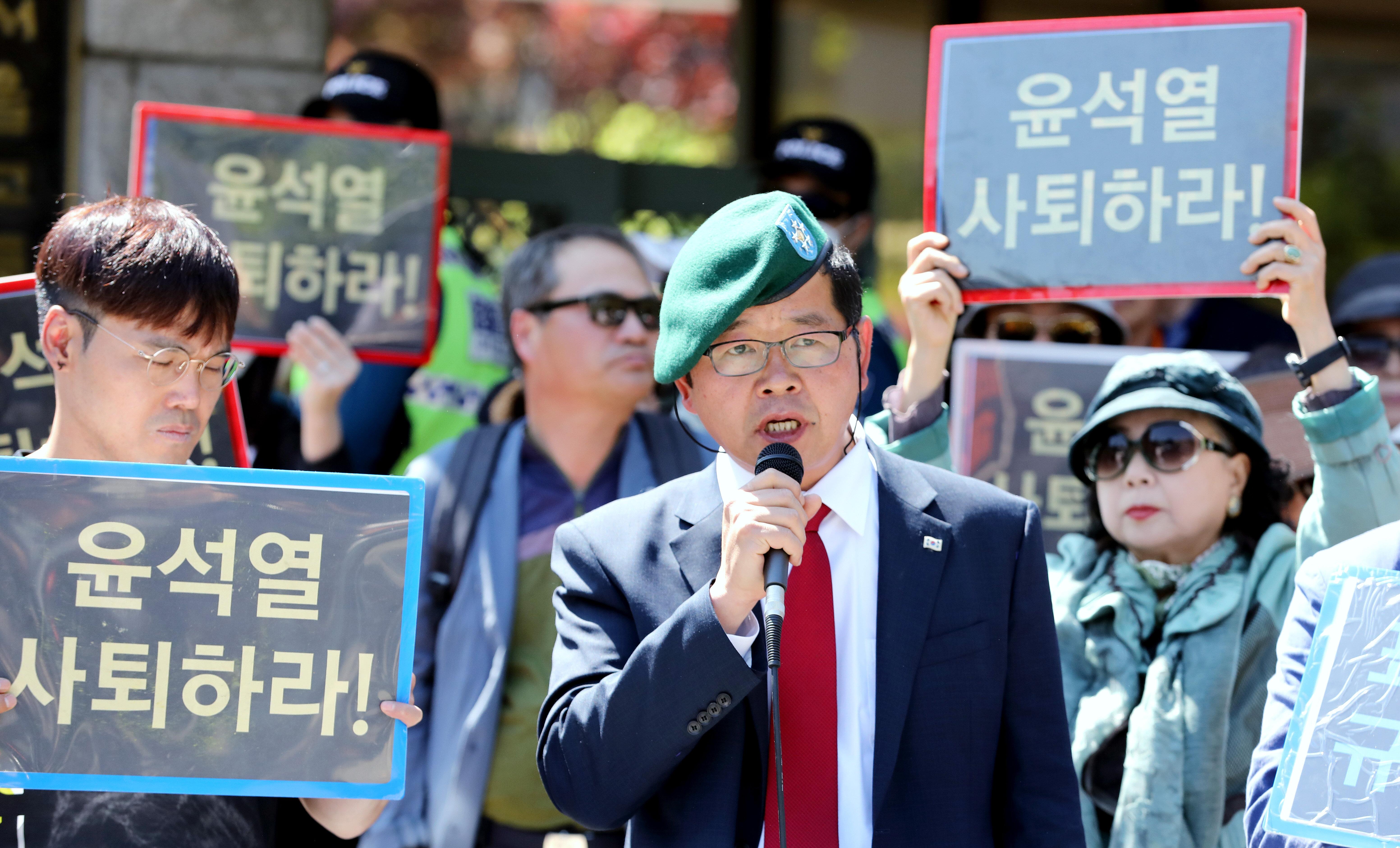 '윤석열 협박' 유튜버 김상진씨가 검찰의 소환조사를