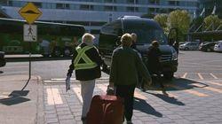 Québec: l'aéroport et le terminal des croisières désertés par les