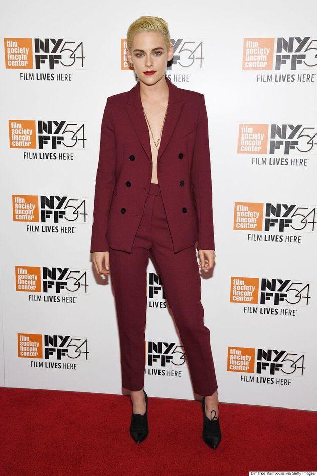 Kristen Stewart n'aime pas porter de soutien-gorge et l'assume à merveille