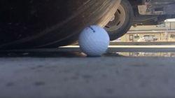 Rien ne résiste à un rouleau compresseur, sauf une balle de golf