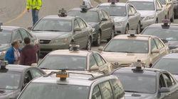 Bond des plaintes envers les taxis à
