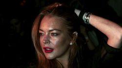 Lindsay Lohan perd un bout de son doigt dans un