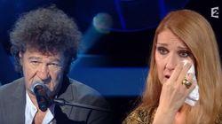 Céline Dion craque et fond en larmes face à Robert