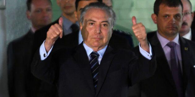 Le président brésilien Michel Temer échappe à nouveau à un procès pour