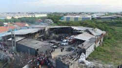 Au moins 46 morts dans l'incendie d'une usine de feux d'artifice en