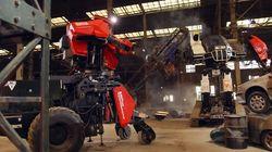 Un combat de robots géants entre les États-Unis et le