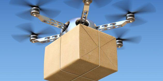 Des drones pour acheminer les marchandises dans les communautés