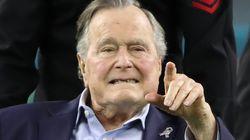 Une autre actrice accuse Bush père de lui avoir touché les