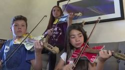 Des instruments de musique fabriqués à partir de