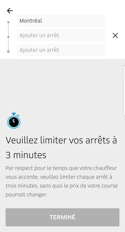 Une nouvelle fonctionnalité d'Uber pour encourager le partage des