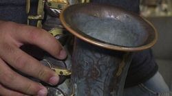 Ces instruments de musique ont été fabriqués à partir de