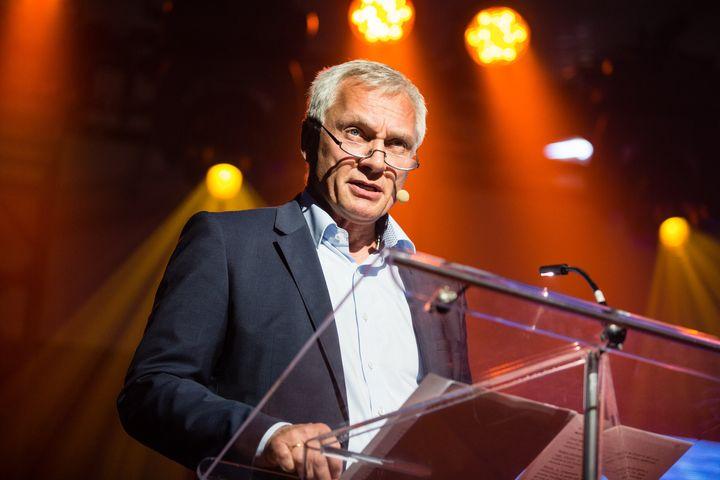 Joachim Damasky en conférence à Movin'On 2017.