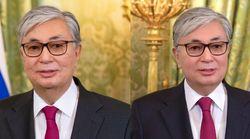 카자흐스탄 대통령 비서들은 대통령 얼굴에 '뽀샵'을 많이