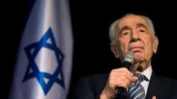 L'ex-premier ministre israélien Shimon Peres est