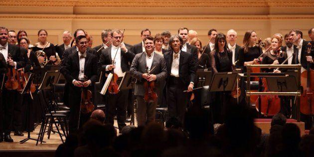 L'Orchestre symphonique de Montréal fait vibrer Carnegie
