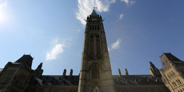 Parliament Hill in Ottawa, Ontario,Canada is seen August 11, 2016.A Canadian man who had pledged allegiance...