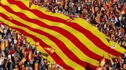 Catalogne: des centaines de milliers de manifestants anti-sécession se rassemblent à