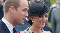 Le prince William et sa famille sont arrivés au