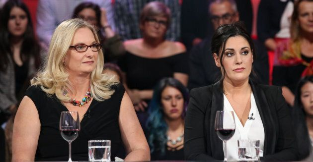 Katia Gagnon et Stéphanie