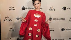 Gala ADISQ 2017: Klô Pelgag tout en sushi sur le tapis